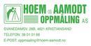 Hoem og Aamodt Oppmåling AS logo