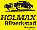 Holmax bilverkstad AB logo