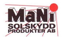 MaNi Solskyddsprodukter AB logo