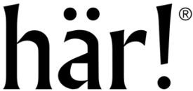 här! logo