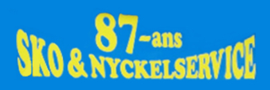 87:ans Sko & Nyckelservice logo