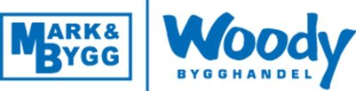 Mark & Bygg Woody Bygghandel logo