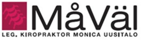 MåVäl Kiropraktorkliniken Monica Uusitalo logo