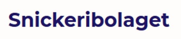 Snickeribolaget logo