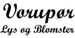 Vorupør Lys Og Blomster ApS logo