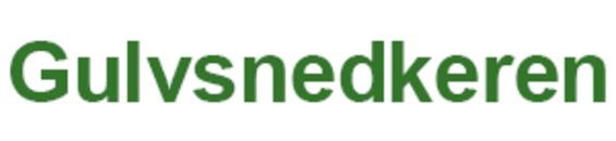 Gulvsnedkeren logo