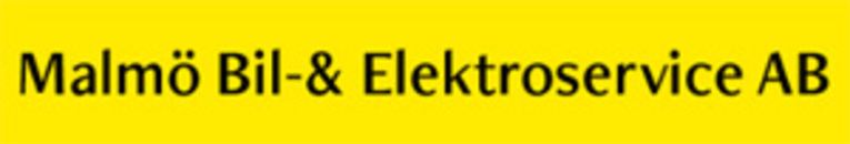 Malmö Bil- & Elektroservice AB logo