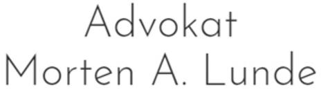 Advokat Morten A Lunde logo