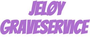 Jeløy Graveservice logo