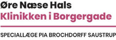 Øre- næse halslæger v/ Pia Brochdorff Saustrup logo