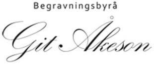 Begravningsbyrå Git Åkeson logo