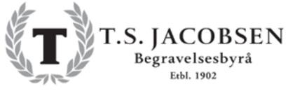 T. S. Jacobsen begravelsesbyrå Ullevål logo