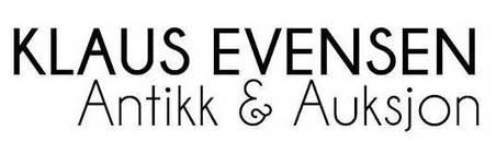 Klaus Evensen Antikk & Auksjon logo
