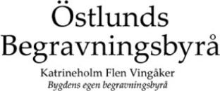 Begravningsbyrå Östlunds AB logo