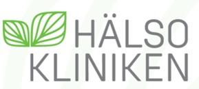 Hälsokliniken i Luleå logo
