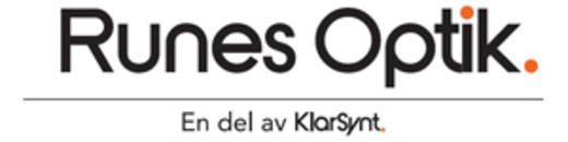 Runes Optik AB logo