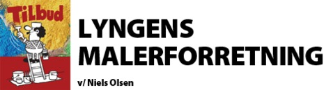 Lyngens Malerforretning logo