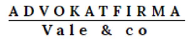 Advokatfirma Vale & Co DA logo