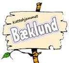 Bæklund kattehjem og pension logo