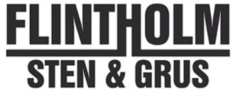 Flintholm Sten og Grus ApS logo