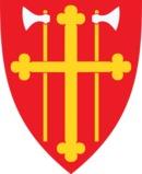 Den norske Kirke Ringsaker kirkelige fellesråd Brumunddal logo