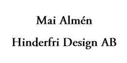 Mai Almén Hinderfri Design AB logo