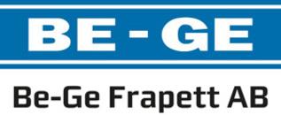 Be-Ge Frapett AB logo