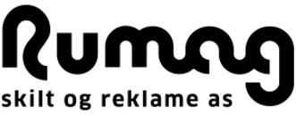 Rumag Skilt og Reklame AS logo