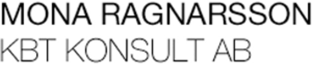 Mona Ragnarsson KBT Konsult logo