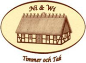 Ni & Wi Timmer och Tak logo