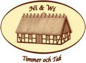Ni & Wi Timmer och Tak logo
