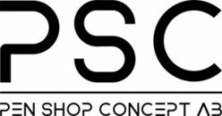 PSC Pen Shop Concept AB logo