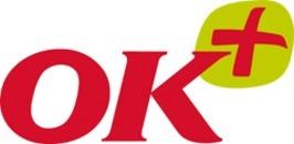 OK Plus Christiansfeld logo