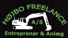 Højbo Freelance Entreprenør & Anlæg A/S logo