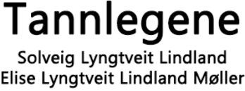 Tannlegene Solveig Lyngtveit Lindland og Elise Lyngtveit Lindland Møller logo