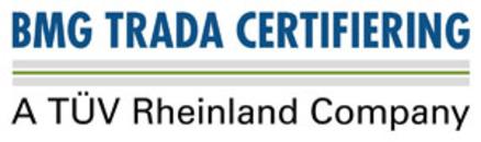 BMG TRADA Certifiering AB logo