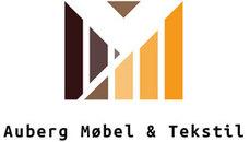 Auberg Møbel og Tekstil logo