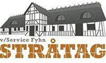 Stråtag V. Service Fyhn logo