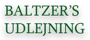 Baltzer's Udlejning logo