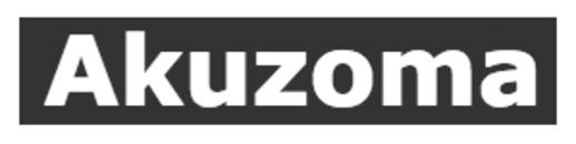 Akuzoma v/Leo Tronier logo