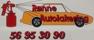 Rønne Autolakering ApS logo