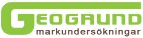 Geogrund AB logo
