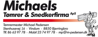 Michaels Tømrer- og Snedkerfirma ApS logo