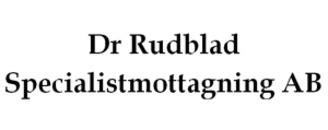 Dr Rudblad Specialistläkarmottagning AB logo