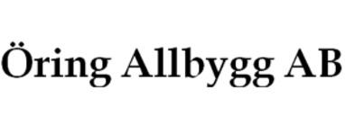 Öring Allbygg AB logo