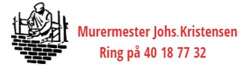 Murermester Johs. Kristensen logo