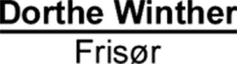 Frisør Dorthe Winther logo