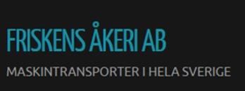 Friskens Åkeri AB logo