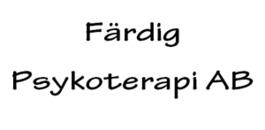 Färdig Psykoterapi AB logo