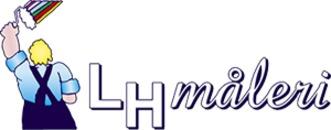LH Måleri logo